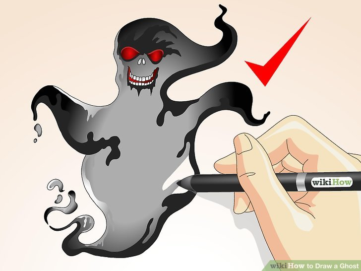 Danger clipart ghost Ways a Ghost a titled