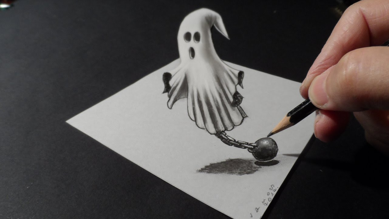 Drawn haunted house hounted Draw 3D How YouTube