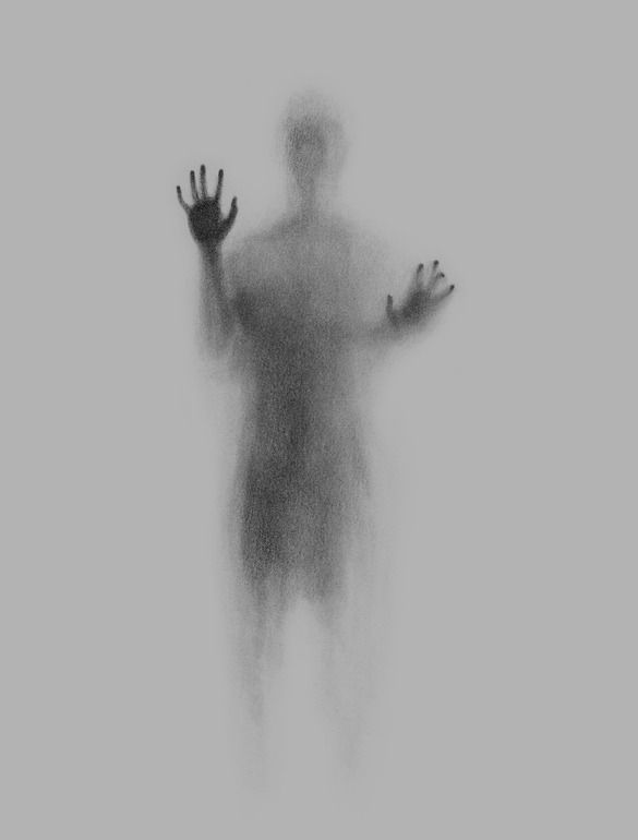 Drawn ghostly Graphite Pinterest Ghost Drawing Online