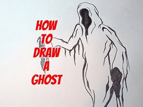 Drawn ghostly angry Ghost How Draw How Draw