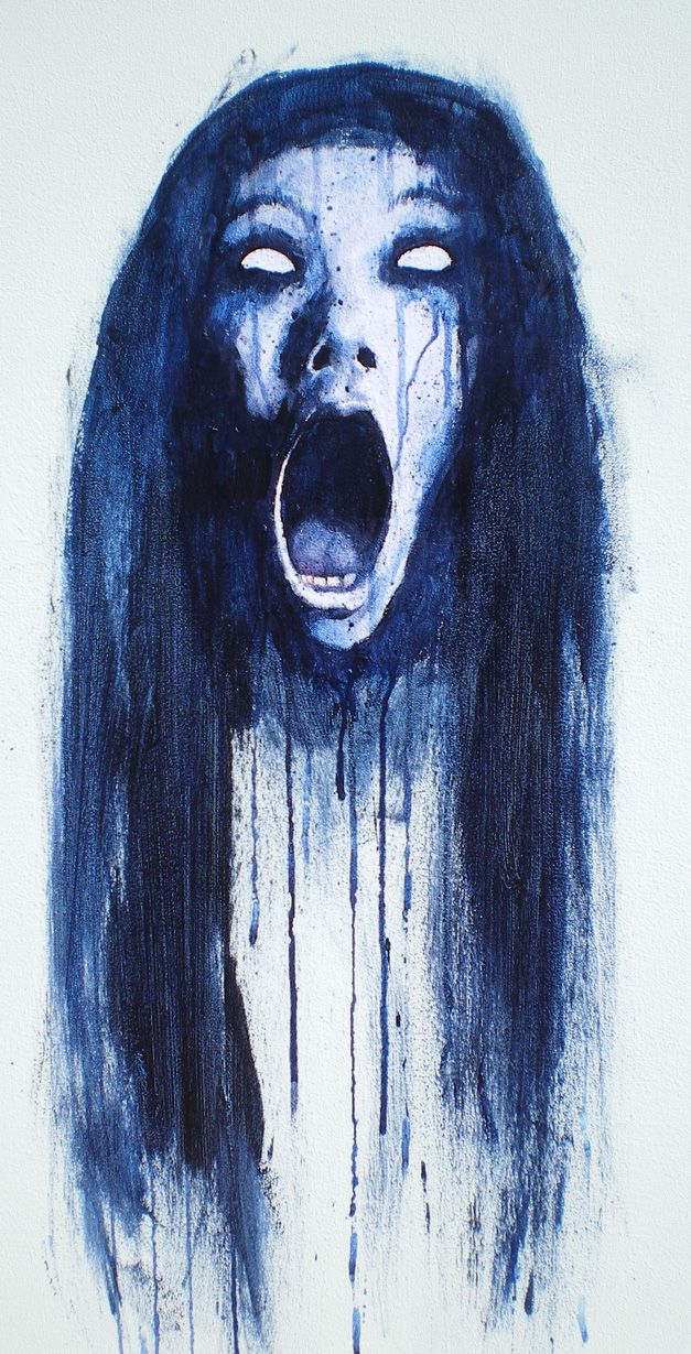 Drawn ghostly blue Images on Pinterest 50 best