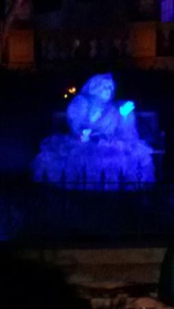 Drawn ghostly blue DRAWN Haunted Mansion Fantasma Picture