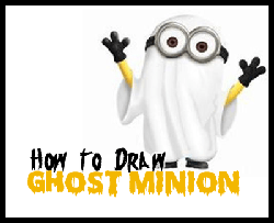 Ghostly clipart easy Draw Minion to Dressed Drawing