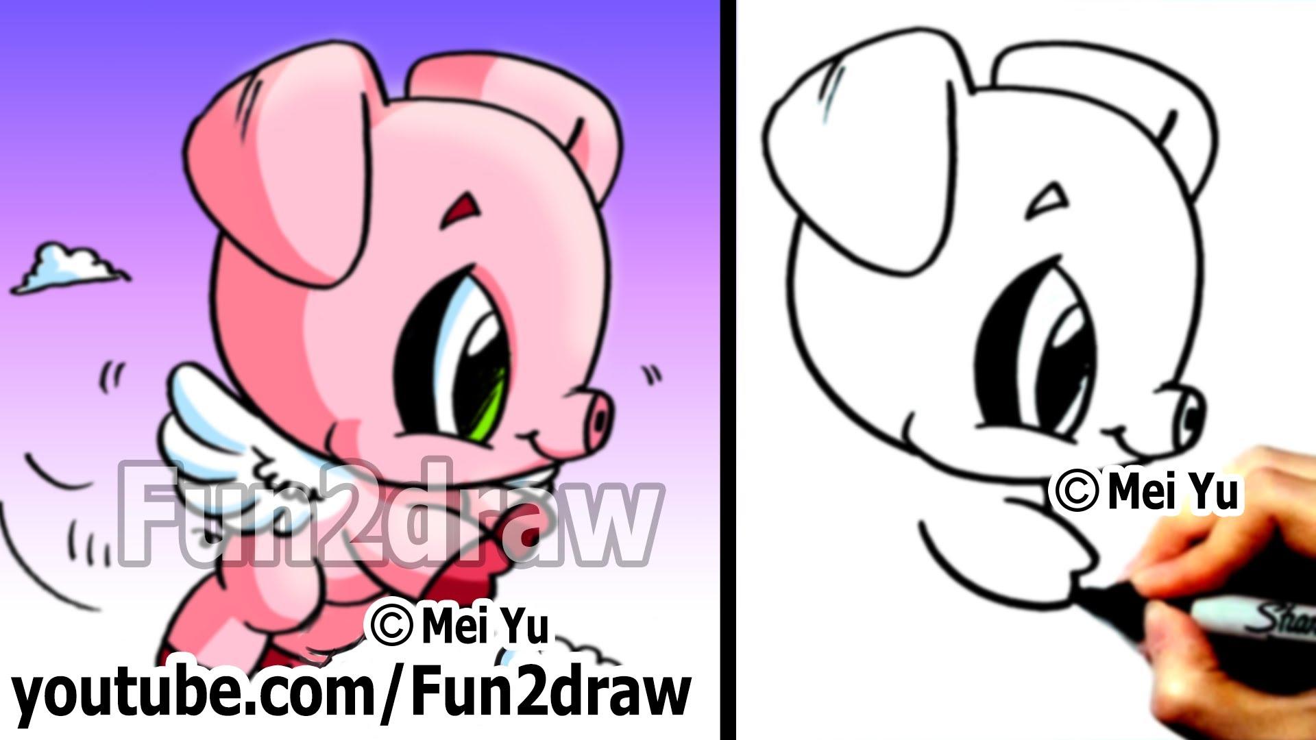 Drawn pug fun2draw At pace & own Fun2draw