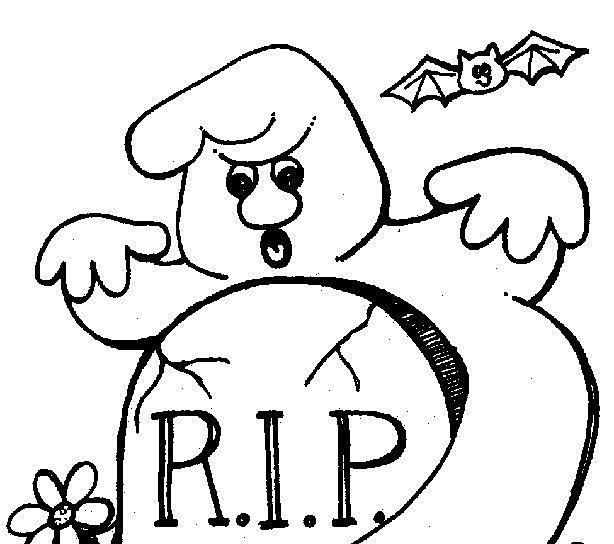 Drawn ghostly halloween coloring Pages Coloring Halloween Halloween Coloring