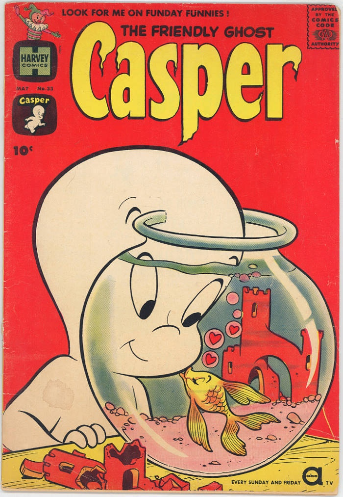 Drawn ghostly kasper The with Kiss 1961 Casper