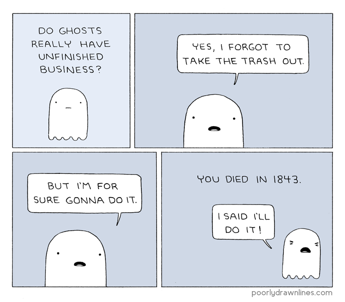 Drawn ghostly poorly drawn line Lines Business Poorly business Ghost