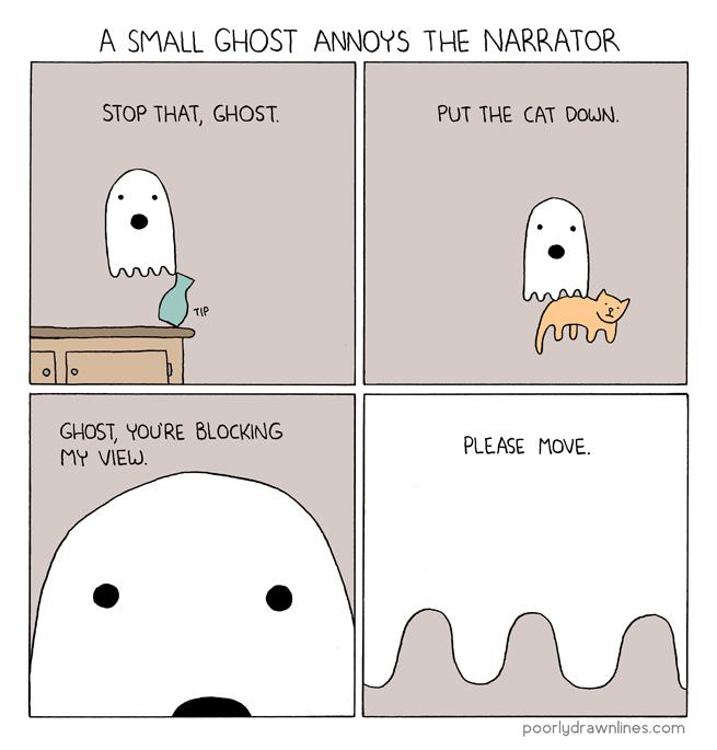 Drawn ghostly poorly drawn line – Drawn Poorly %link Ghost