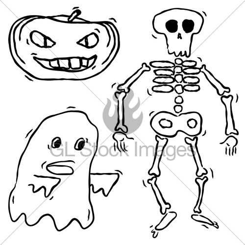 Drawn pumpkin spooky Ghost Drawn Images And Spooky