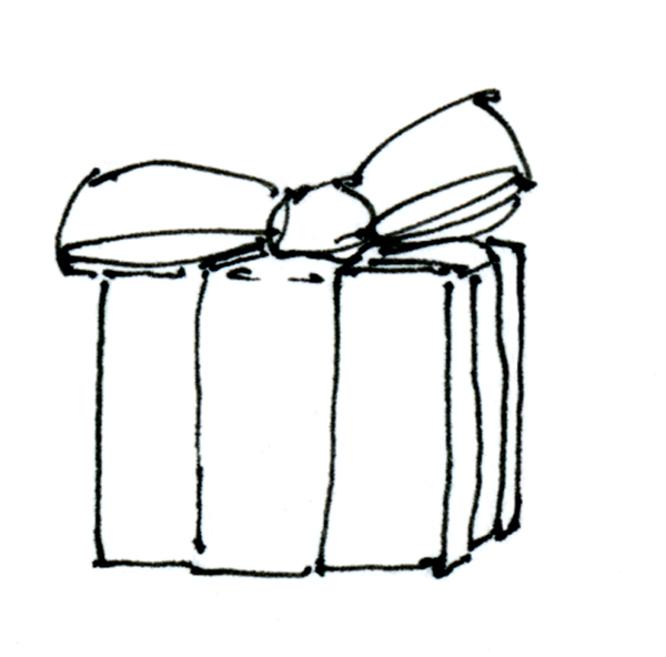 Drawn gift The Gift Drawing of McDermott: