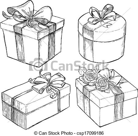 Drawn gift On Drawn Present drawn gift