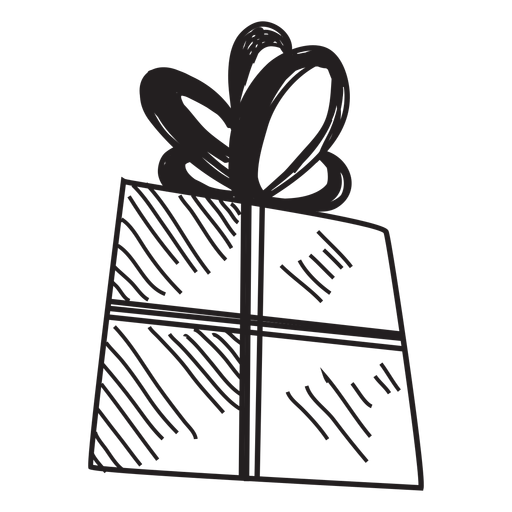 Drawn gift Vector Transparent Gift Gift hand