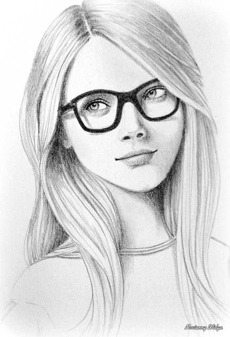 Drawn girl 25+ on and on of