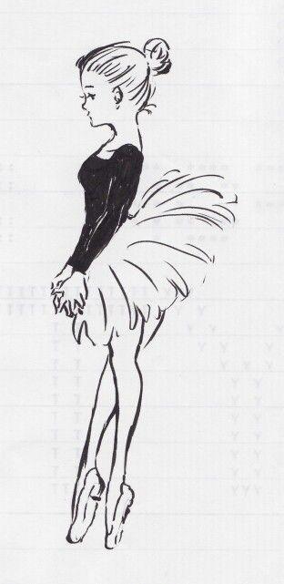 Drawn ballerine cute Marker I to Cute ideas