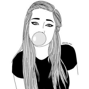 Drawn photos black and white Best sketches/fillers= white Girl 25+