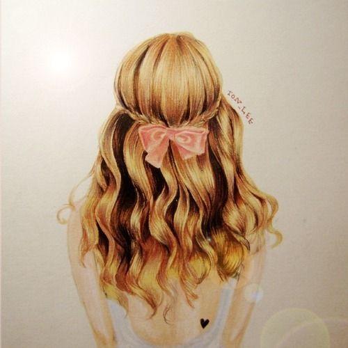Drawn braid hair colour Best amazing! of Art hair