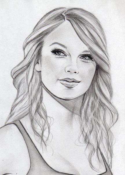 Drawn portrait cute Best 98 art Faces drawing