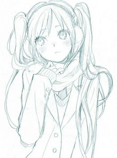 Drawn scarf female  xXTaiyouXx in ANIME girl