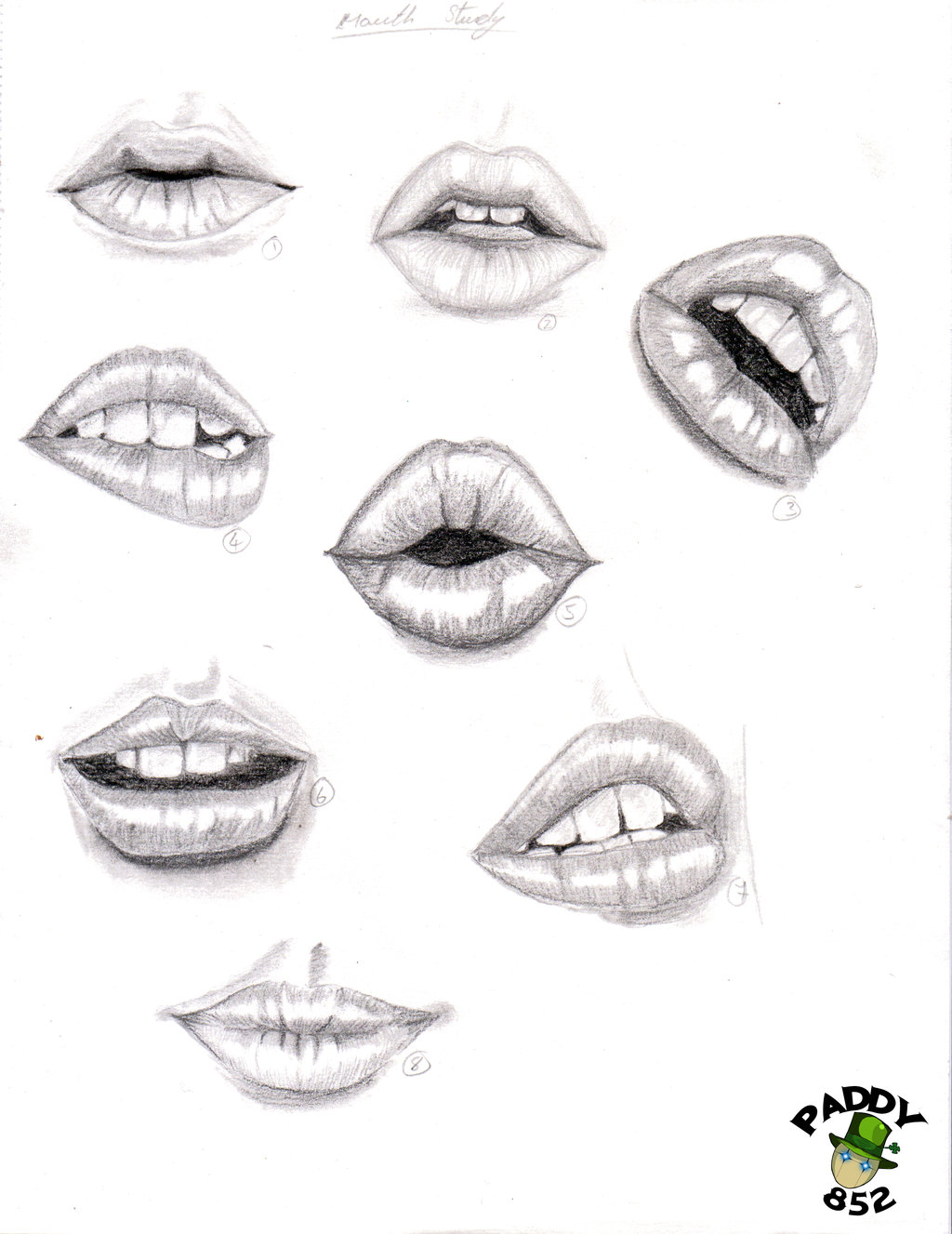 Drawn smile lip Study drawings lips by drawings