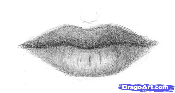Drawn pice lip 3 to to How FREE