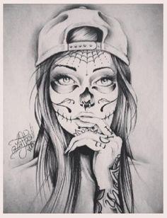 Drawn skull female skull Outfits The on 12 best