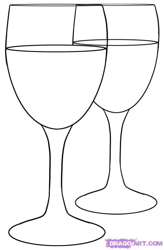 Drawn glass To Step by Glasses How