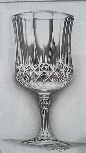 Drawn glass To Lee by crystal How