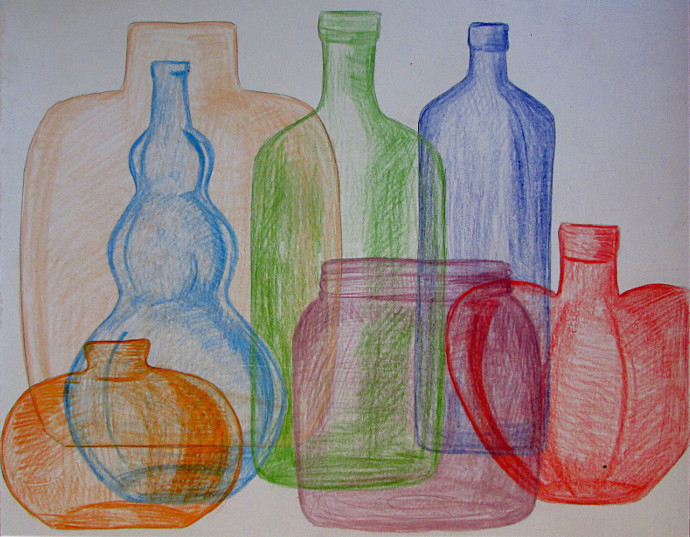 Drawn glass glass vase To Quick To Quick Way