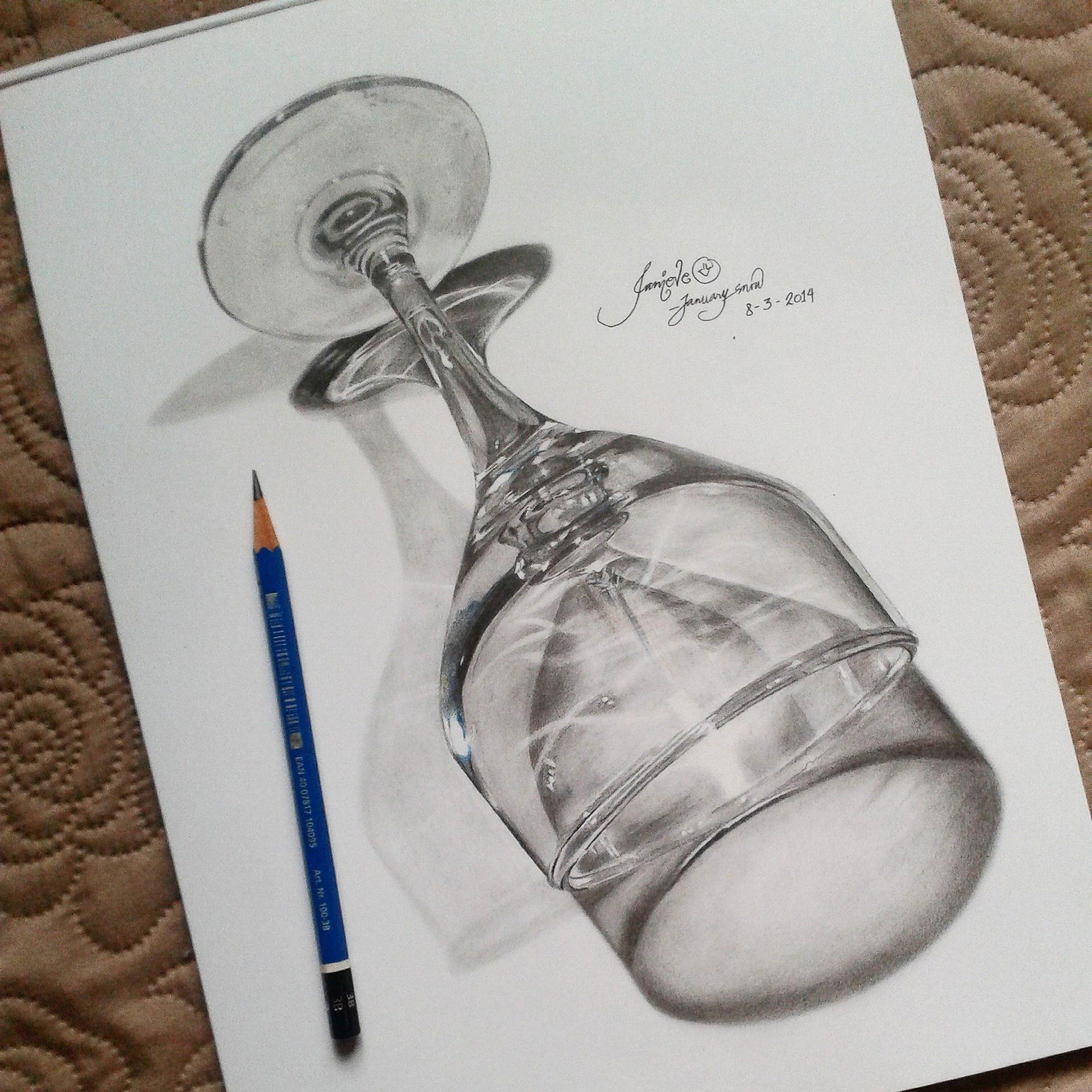Drawn still life hyper realistic By Wine on by DeviantArt