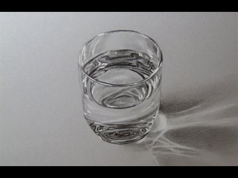 Drawn glasses pencil drawing How of Glass time to