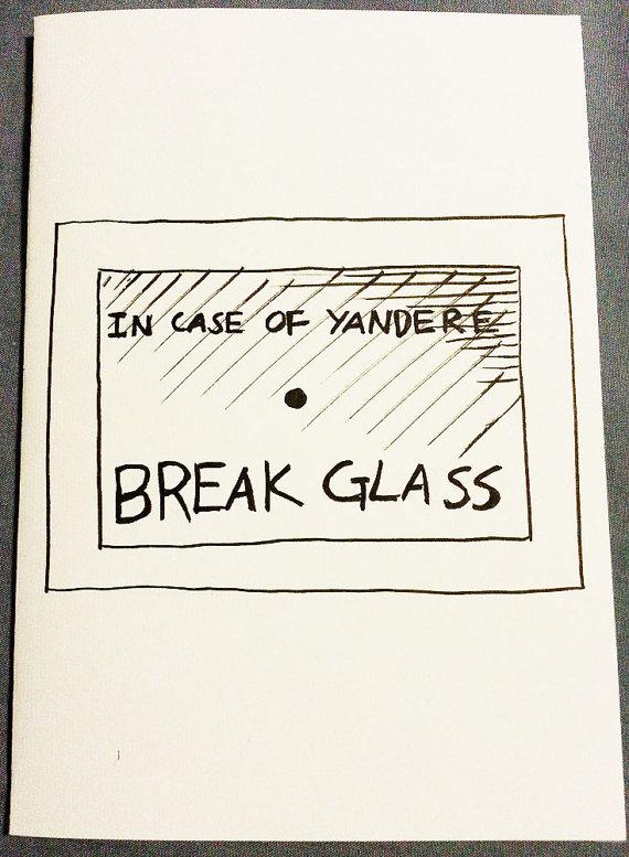Drawn glass unique #6