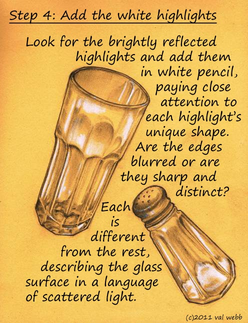 Drawn glass unique #2
