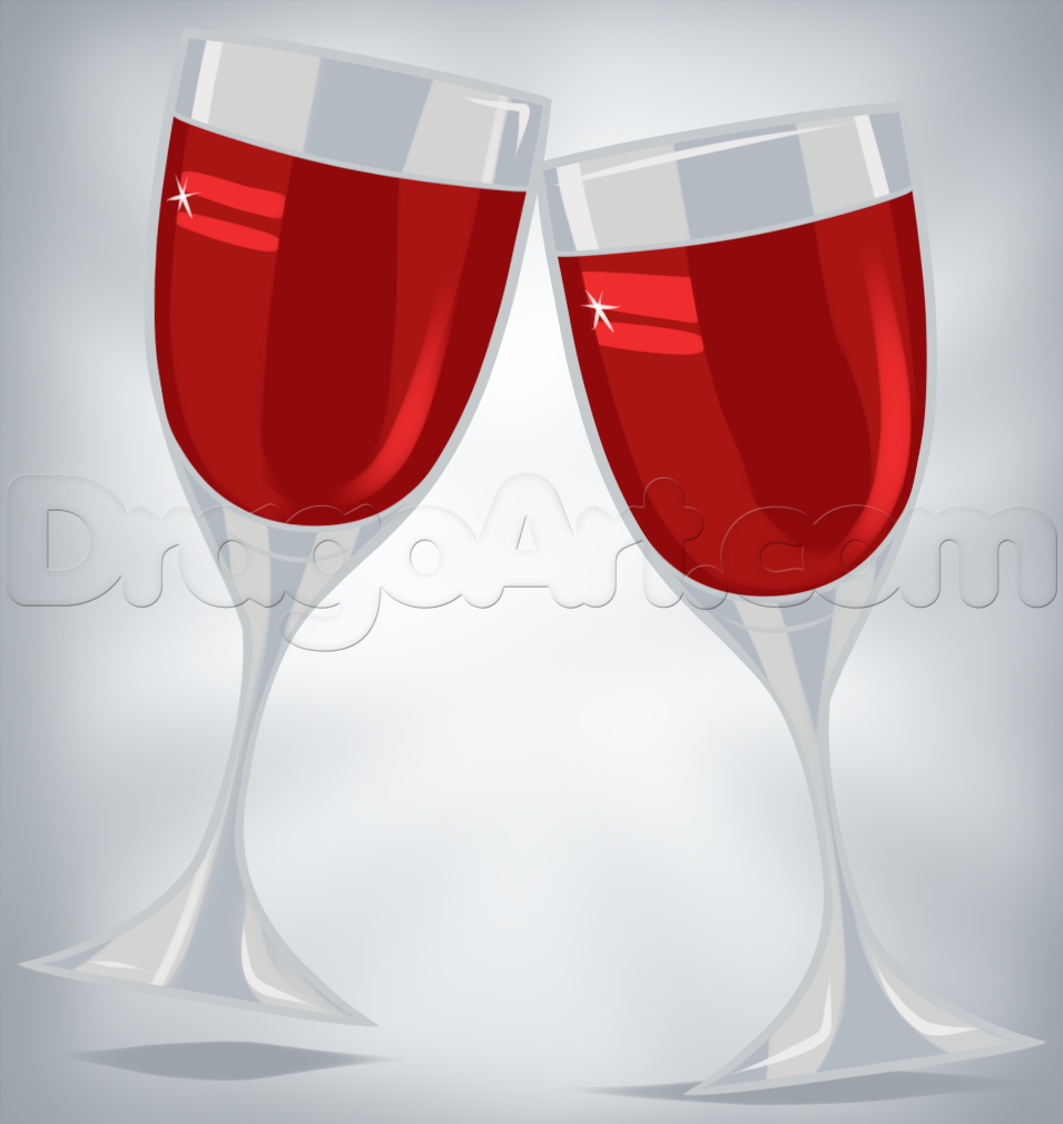 Drawn glasses drinking glass How to Glasses Step by