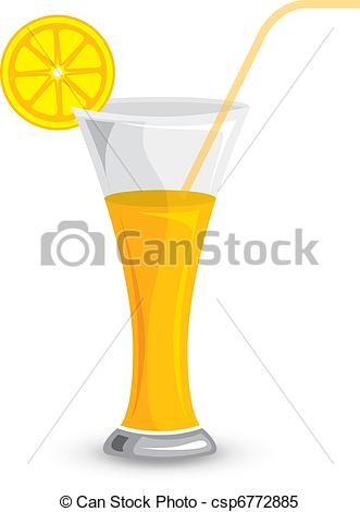 Drawn glasses glass juice Vector Glass 100%  Vector