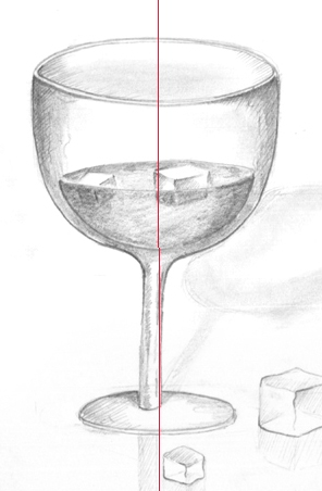 Drawn glasses glass object Very Basic good 10 a