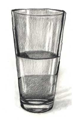 Drawn glasses glass object Do glass to for a