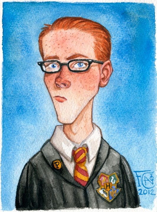 Drawn spectacles percy weasley Potter The Harry The Lexicon