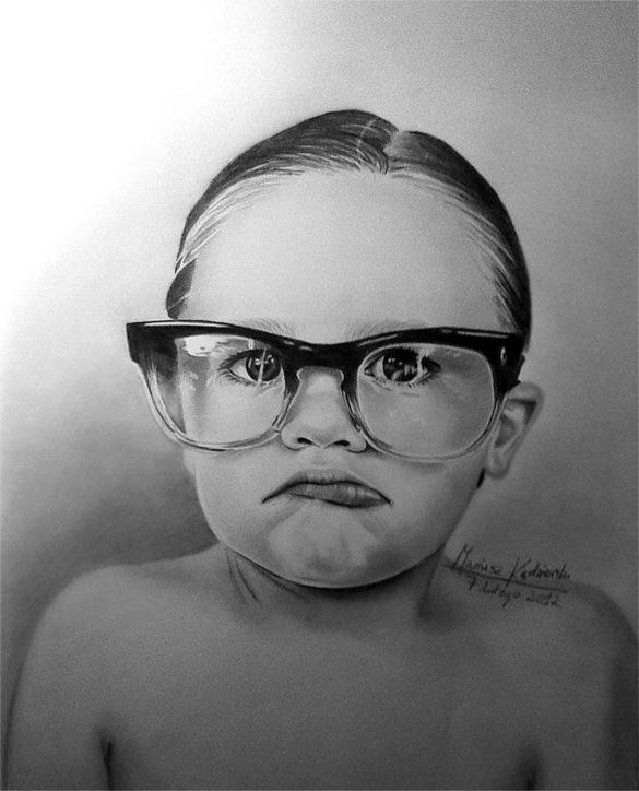 Drawn glasses realistic 21+ Mariusz Drawings & Kedzierski