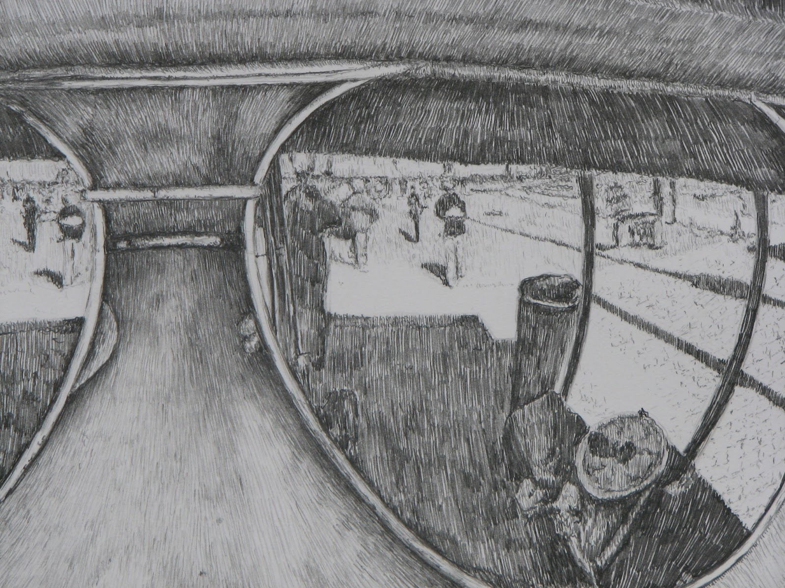 Drawn spectacles reflection Drawing sunglasses reflection