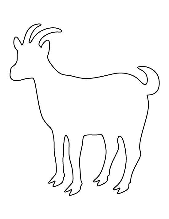 Drawn goat craft Goat Felt for Use best