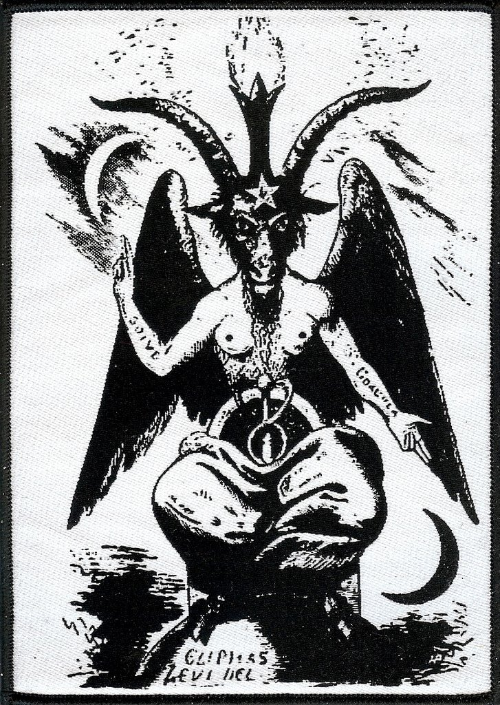 Drawn goat eliphas levi Was of his of created
