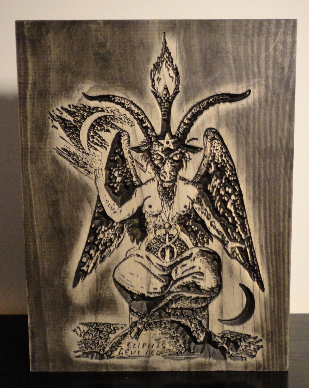 Drawn goat eliphas levi Eliphas this Levi Baphomet Satanism