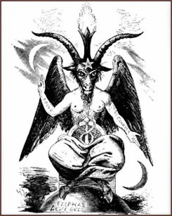 Drawn goat eliphas levi Goat Baphomet Occultopedia the the