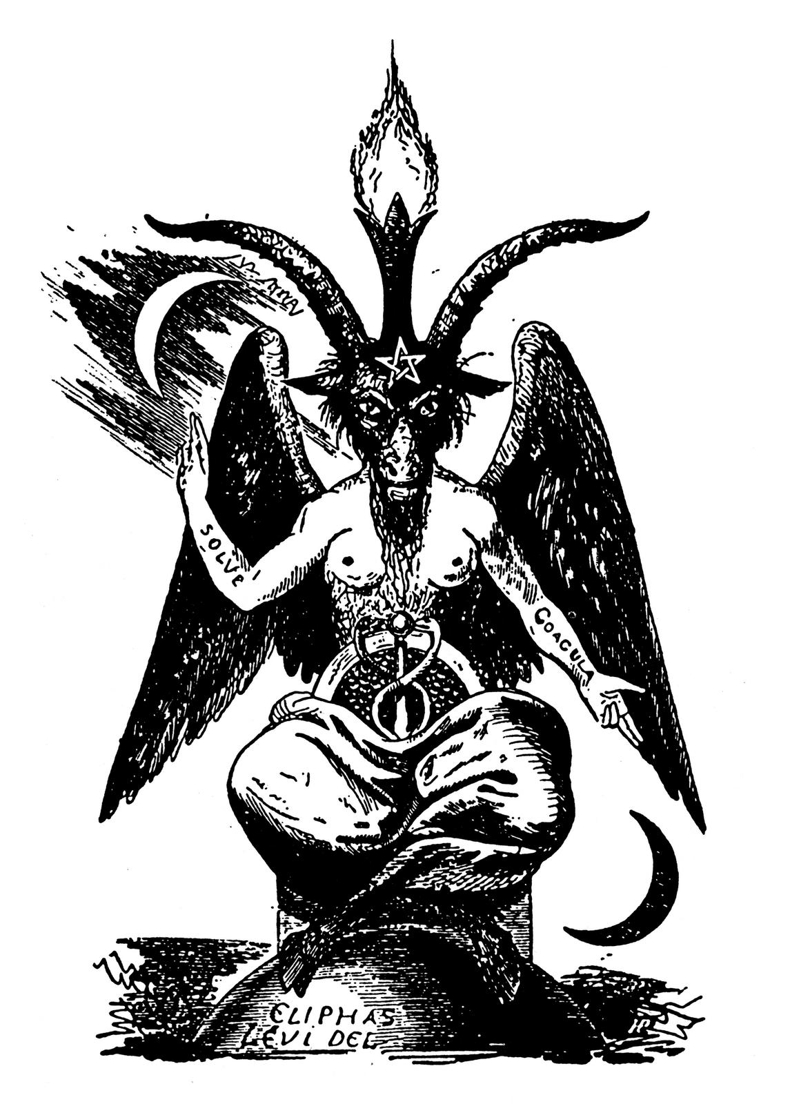 Drawn goat eliphas levi (1145×1600) Levi Eliphas Boffamet Levi