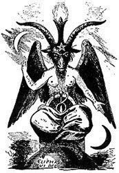 Drawn goat eliphas levi Centuries Baphomet is Baphomet The