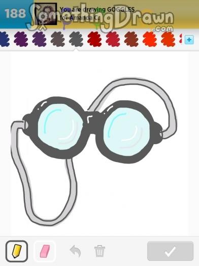 Drawn goggles Goggles C SomethingDrawn Something on