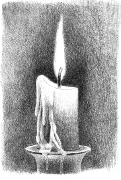 Drawn candle tonal 25+ flames? how draw knowledge
