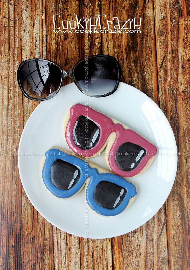 Drawn goggles cookie milk 38  Sunglasses repurpose Cookies