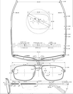 Drawn goggles glass cup Glasses Woodworking technical drawings Google