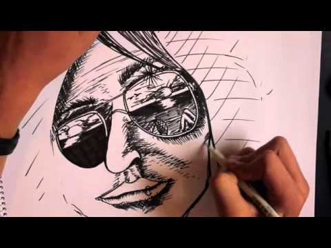 Drawn spectacles reflection Glasses reflect in  YouTube